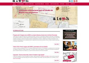 Diseño página web para Aiemh
