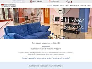 Diseño web en Valladolid para residencia universitaria