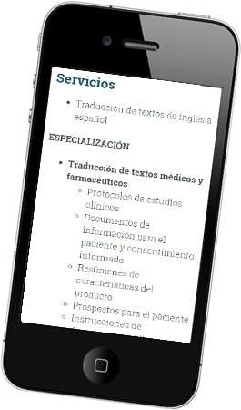 Desarrollo página web Ana Sastre Traductora