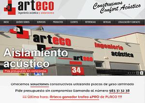 Desarrollo web para Arteco
