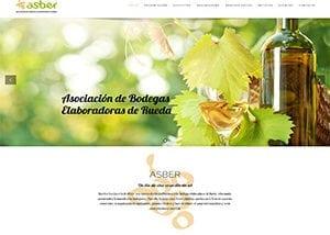 Desarrollo web para Asber