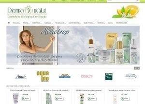 Desarrollo web para dermobio natur