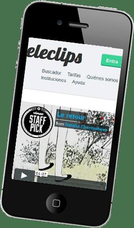 Desarrollo web responsive para Eleclips