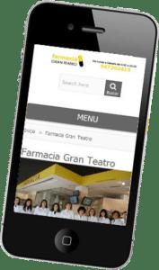 Desarrollo página web Farmacia Gran Teatro
