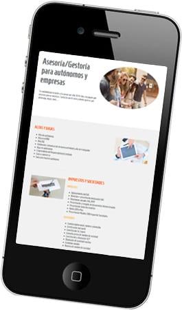 Diseño de página web corporativa para Finner