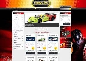 Diseño página web para Formulaslot
