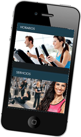 Desarrollo web para Gymfitness
