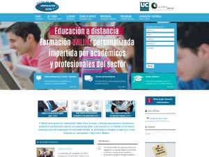 Desarrollo web para el Máster en Comunicación Corporativa