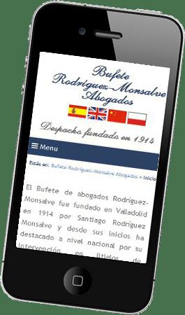 Desarrollo web responsive para Rodríguez Monsalve