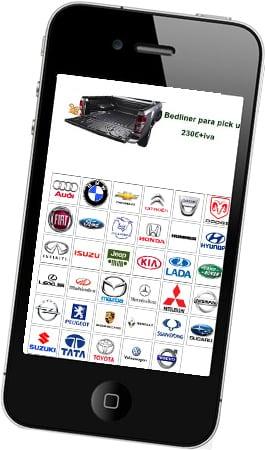 Diseño de tienda online para Terrano 4x4