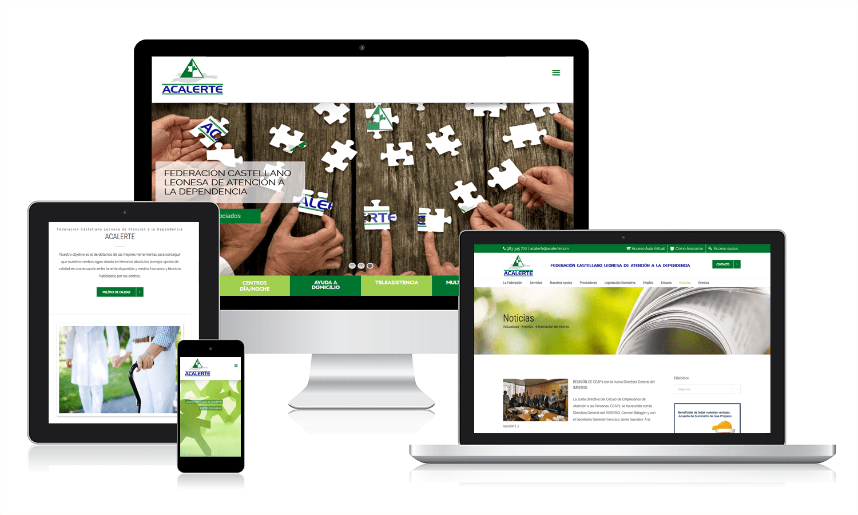 Diseño de una plataforma web para ACALERTE