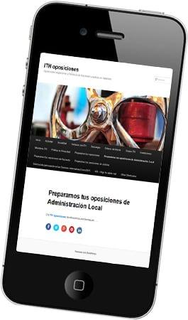 Desarrollo web Ith Oposiciones