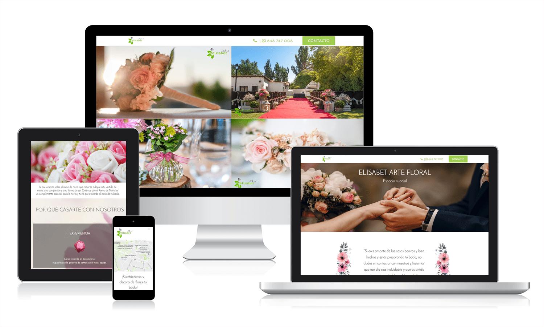 Diseño web para una Floristería