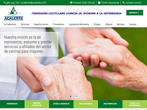 Diseño plataforma web para ACALERTE