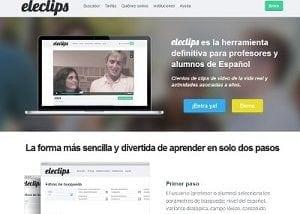 Desarrollo web para Eleclips