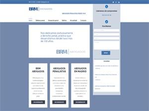 Desarrollo web para BRM abogados