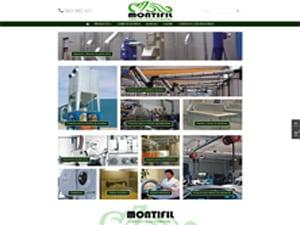 Diseño web para Montifil