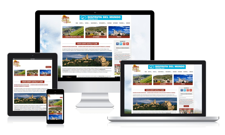 Desarrollo web para Siente Castilla y León