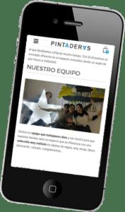Diseño de Tienda online de ropa y complementos para Pintaderas