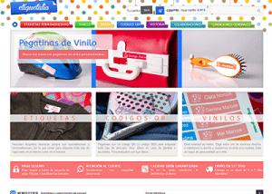 Diseño de Tienda Online Etiquetalia