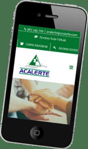Desarrollo de una plataforma web para ACALERTE
