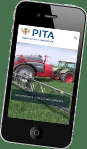 Desarrollo página web para Pita