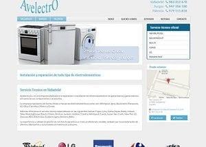 Diseño página web Avelectro