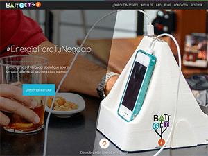 Diseño web para Battget