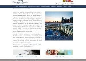 Desarrollo web para Bufete Abogados