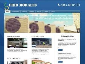 Diseño web para Frío Morales