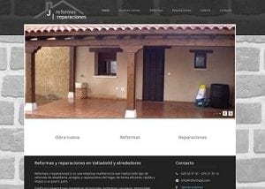 Diseño web para Reformas JI