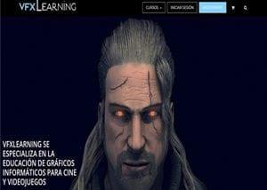 Desarrollo de página web en Valladolid para escuela de gráficos informáticos