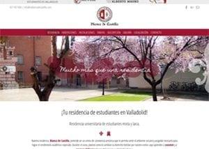Desarrollo y diseño de páginas web en Valladolid para Blanca de Castilla