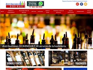 Desarrollo de página web para Distribuciones Dominguez