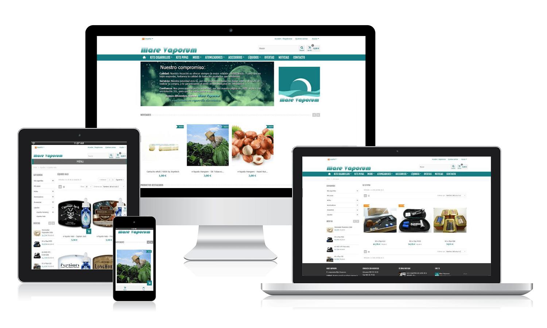 Desarrollo web para Mareva Porum