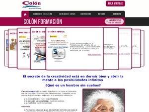 Desarrollo web para Colón Formación