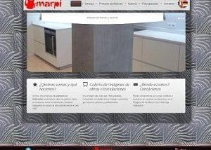 Diseño web para Marpi