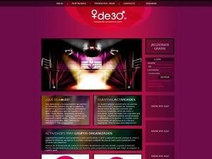 Desarrollo web para Másde30