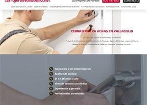 Páginas web en Valladolid para profesionales