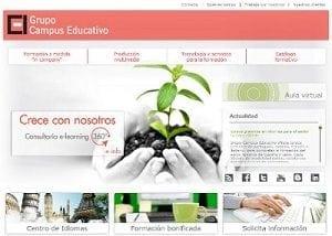 Diseño web para el Campus Educativo de cyl