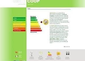 Diseño web para Certicoop