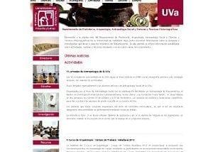 Desarrollo web para el Departamento de Filosofía UVA
