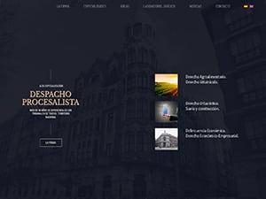 Diseño web responsive de abogados díaz y garrote