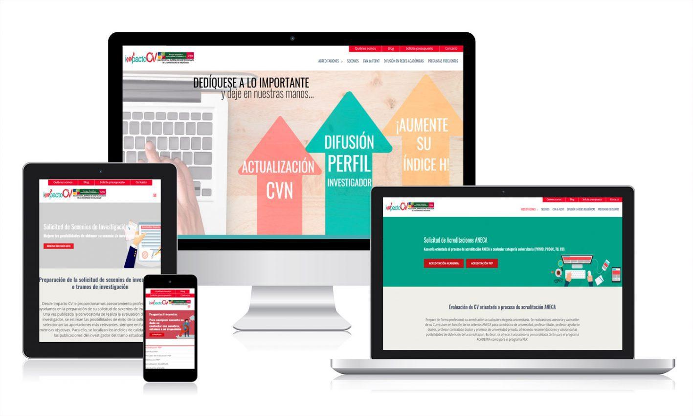 Diseño responsive para página web