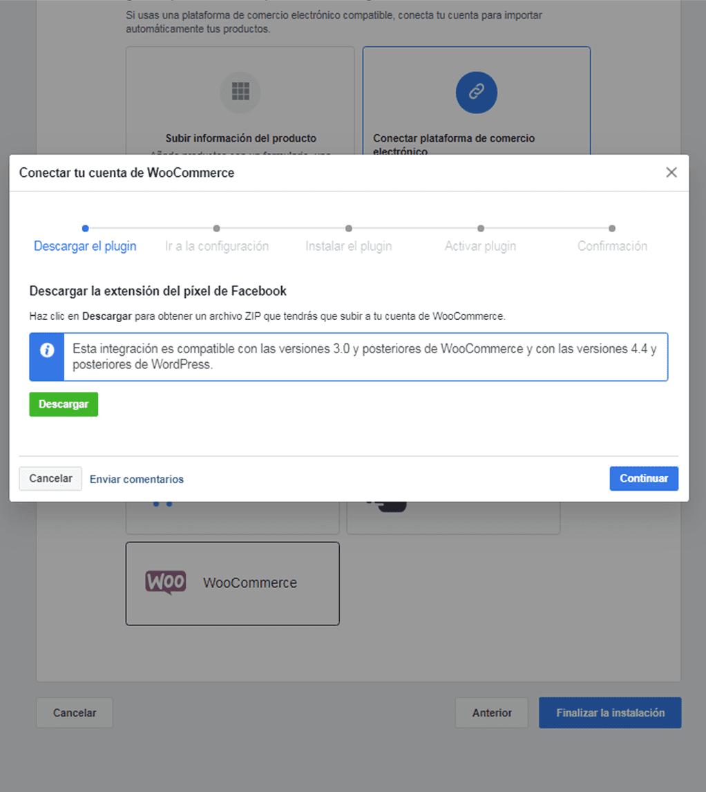 Como conectar nuestro catálogo de WooCommerce en Facebook