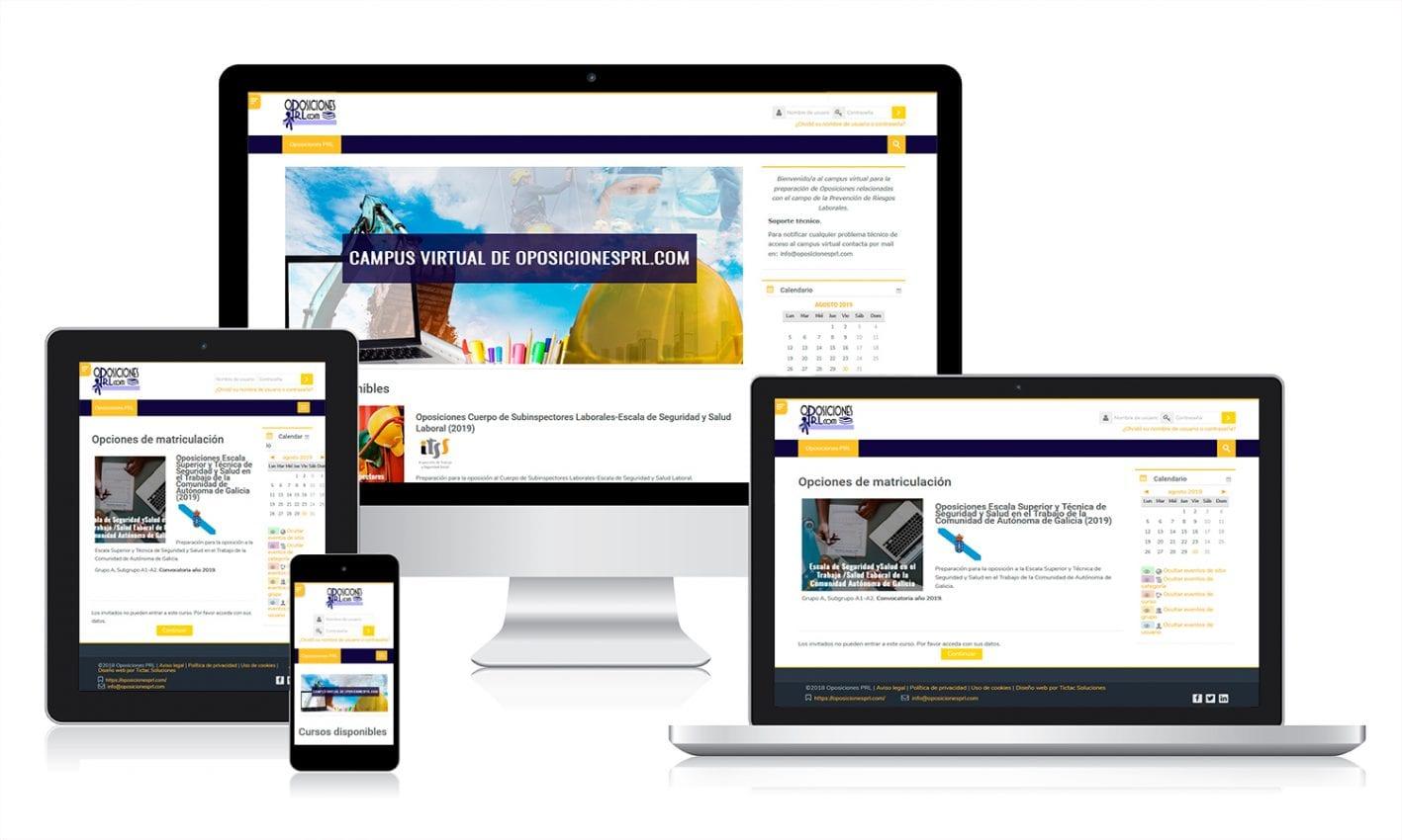 Desarrollo de plataforma de e-learning con Moodle