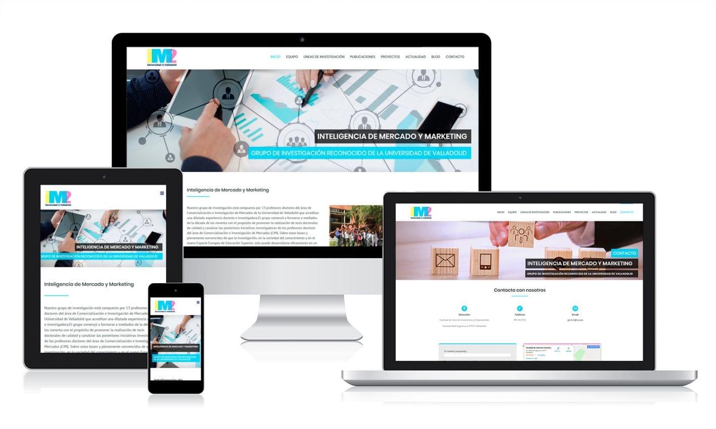 Desarrollo web en WordPress para GIR de la UVA