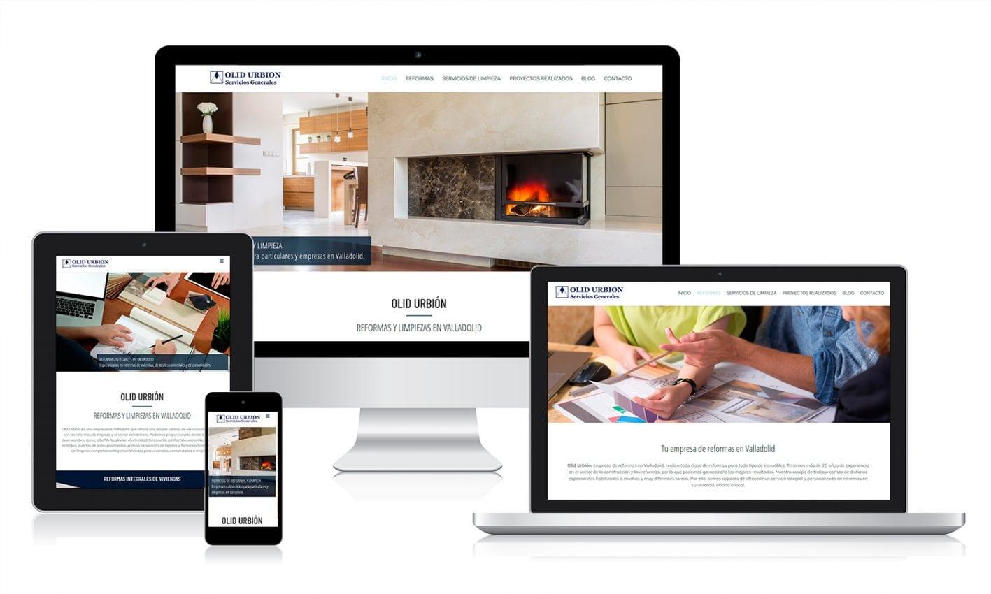 Desarrollo web en WordPress para empresa de reformas